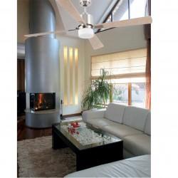 Ventilador de techo con luz PALK