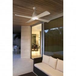 Ventilador de techo con luz TYPHOON (Especial exterior)