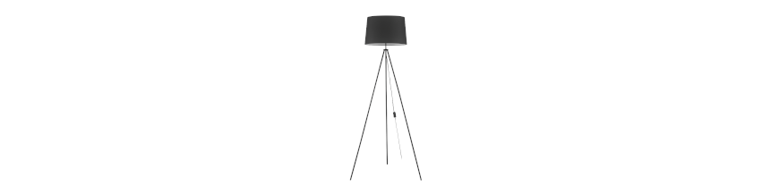 Lámparas de pie con pantalla tactil