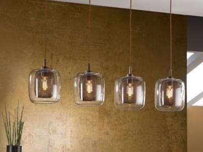 iluminación estilo vintage